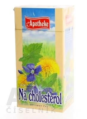 APOTHEKE ČAJ NA CHOLESTEROL 20x1,5 g (30 g)