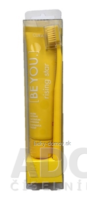 CURAPROX BE YOU Rising star - žltý set zubná pasta 70 ml + zubná kefka CS 5460 1 ks, 1x1 set