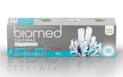 biomed CALCIMAX zubná pasta s prírodnými výťažkami z morských rias 1x100 g