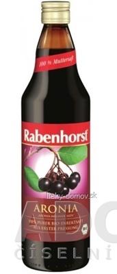 Rabenhorst Arónia 100% šťava Bio 1x750 ml