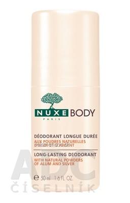 NUXE BODY Dezodorant Long lasting, roll-on s predĺženým účinkom 1x50 ml