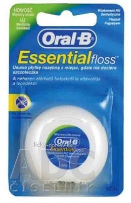 Oral-B Essential floss ZUBNÁ NIŤ 50 m, 1x1 ks
