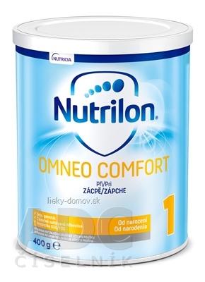 Nutrilon 1 OMNEO COMFORT mliečna výživa v prášku (od narodenia) (inov. 2019) 1x400 g