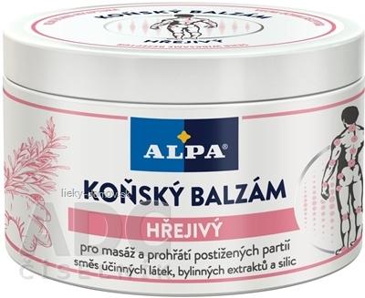 ALPA KONSKÝ BALZAM Hrejivý masážny 1x250 ml