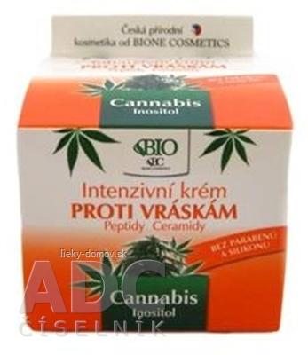 BC BIO Cannabis Intenzívny KRÉM PROTI VRÁSKAM 1x51 g