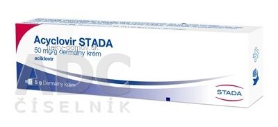 Acyclovir STADA crm der (tuba Al) 1x5 g
