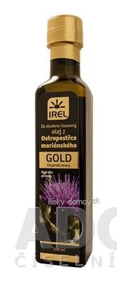 Olej z pestreca mariánskeho GOLD za studena lisovaný 1x250 ml