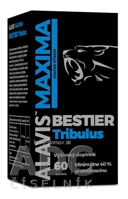 ALAVIS MAXIMA BESTIER Tribulus cps 1x60 ks