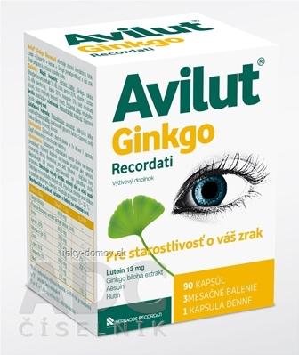 AVILUT Ginkgo Recordati cps 1x90 ks