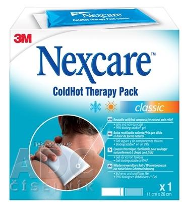 3M Nexcare ColdHot Classic [SelP] gélový obklad, 26x11 cm, 1x1 ks