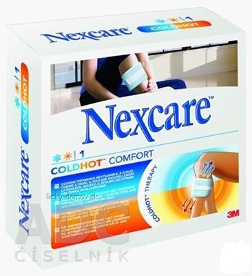 3M Nexcare ColdHot Comfort gélový obklad, suchý zips, 26x11 cm, 1x1 ks