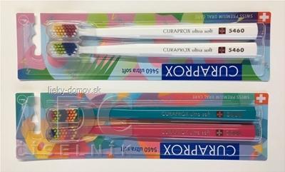 CURAPROX CS 5460 ultrasoft Pallette Edícia zubná kefka (dvojbalenie), 1x2 ks