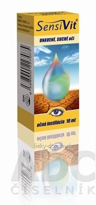 SensiVit unavené suché oči (očná roztoková instilácia) 1x10 ml