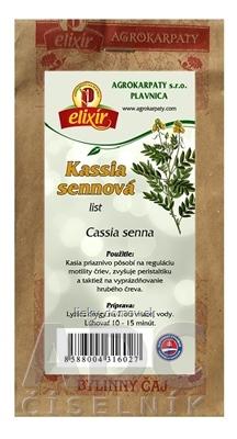 AGROKARPATY KASSIA SENNOVÁ list bylinný čaj 1x30 g