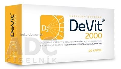 DeVit 2000 cps 1x120 ks