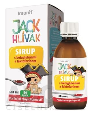 HLIVA JACK HLÍVÁK SIRUP glukány, laktoferín-Imunit sirup pre deti (60 dávok) 1x300 ml