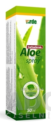 VIRDE ALOE VERA spray 1x50 ml