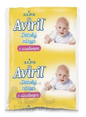 AVIRIL DETSKÝ ZÁSYP S AZULÉNOM vo vrecúšku 1x100 g