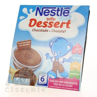 Nestlé Baby DESSERT Čoko (od ukonč. 6. mesiaca) 4x100 g (400 g)