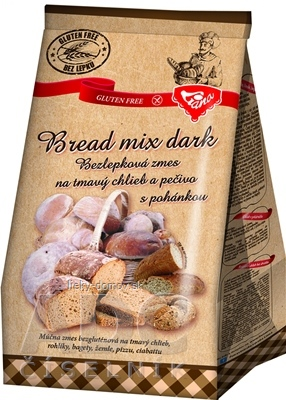Liana Bread mix dark plv (bezlepková zmes na tmavý chlieb a pečivo s pohánkou) 1x1000 g