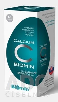 BIOMIN CALCIUM S VITAMÍNOM C cps 1x60 ks
