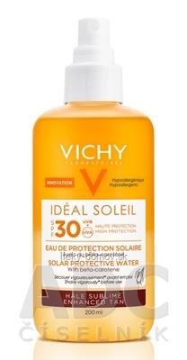 VICHY Idéal Soleil PROT WATER SPF 30 R18 ochranná voda s betakaroténom (MB054500) 1x200 ml