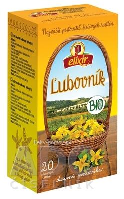 AGROKARPATY BIO Ľubovník bodkovaný bylinný čaj, čistý prírodný produkt, 20x2 g (40 g)