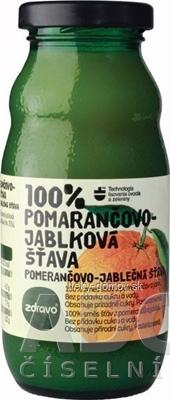 zdravo 100% POMARANČOVO-JABLKOVÁ ŠŤAVA 1x200 ml