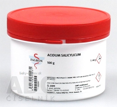 Acidum salicylicum - FAGRON v dóze 1x100 g