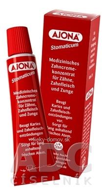 AJONA STOMATICUM zubná pasta 1x25 ml