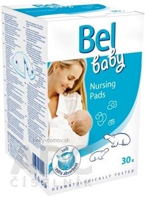 Bel baby Nursing Pads - prsné vložky 1x30 ks