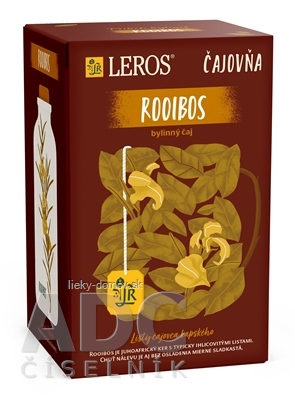 LEROS Čajovňa ROOIBOS čaj nálevové vrecúška 20x2 g (40 g)