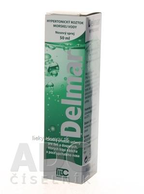 Delmar Hypertonic nosový sprej 1x50 ml