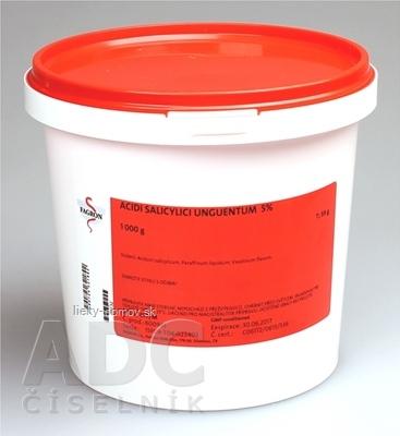 Acidi salicylici unguentum 5% - FAGRON v dóze 1x1000 g