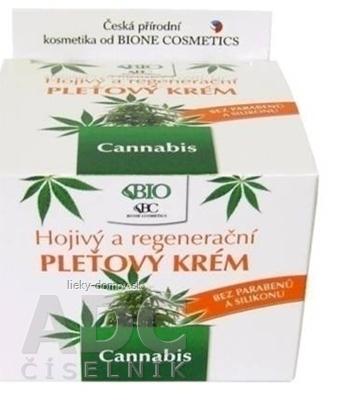 BC BIO Cannabis PLEŤOVÝ KRÉM Hojivý a regeneračný 1x51 g