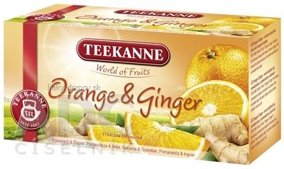 TEEKANNE WOF ORANGE&GINGER ovocno-bylinný čaj 20x2,25 g (45 g)