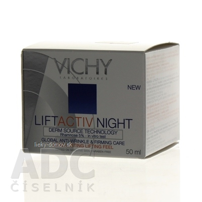 VICHY LIFTACTIV DS NOČNÝ (NUIT) krém (M2912803) 1x50 ml