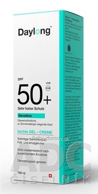 Daylong Sensitive SPF 50+ gel - creme 1x100 ml