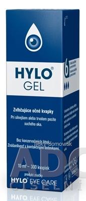 HYLO GEL zvlhčujúce očné kvapky 1x10 ml