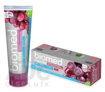 biomed SENSITIVE revitalizačná zubná pasta s obsahom prírodného vápnika 1x100 g