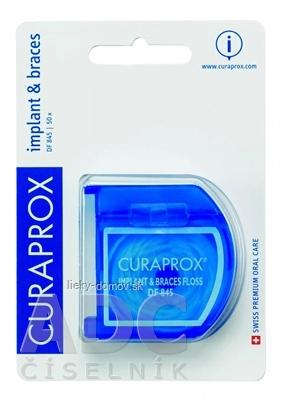 CURAPROX DF 845 zubná niť na mostíky a implantáty 1x50 ks
