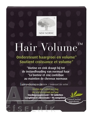 NEW NORDIC HAIR VOLUME tbl 1x90 ks