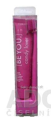 CURAPROX BE YOU Candy lover - ružový set zubná pasta 70 ml + zubná kefka CS 5460 1 ks, 1x1 set