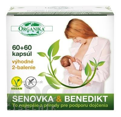 ORGANIKA SENOVKA & BENEDIKT cps 2x60 ks, 1x1 set