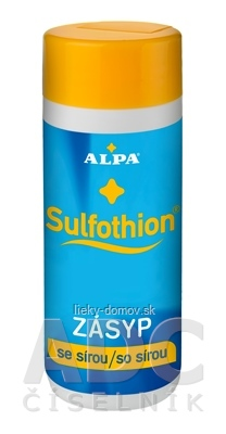 ALPA SULFOTHION ZÁSYP so sírou 1x100 g