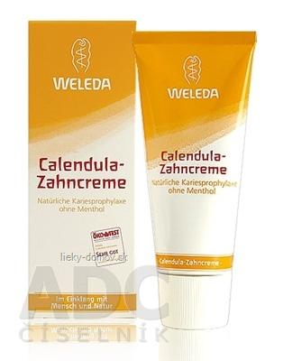 WELEDA Nechtíková zubná pasta (Calendula-Zahncreme) 1x75 ml