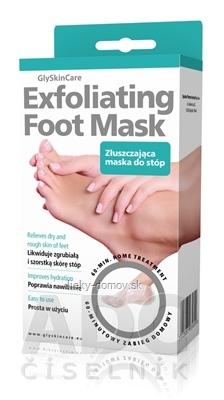 GlySkinCare Exfoliating Foot Mask exfoliačná maska na chodidlá 1x1 pár
