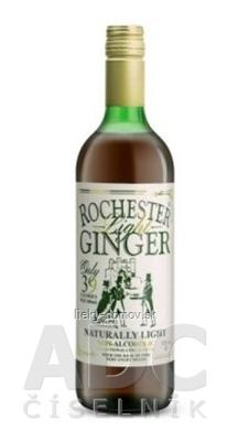 ROCHESTER Light GINGER nealkoholický zázvorový nápoj bez cukru 1x725 ml
