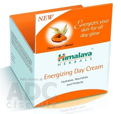 Himalaya Energizujúci denný krém Energising day cream, Thatch Grass & Almond 1x50 ml