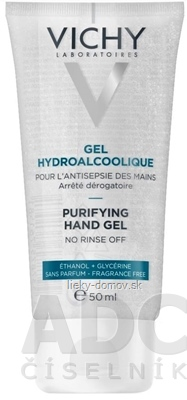 VICHY GEL HYDROALCOOLIQUE čistiaci prípravok na ruky 1x50 ml